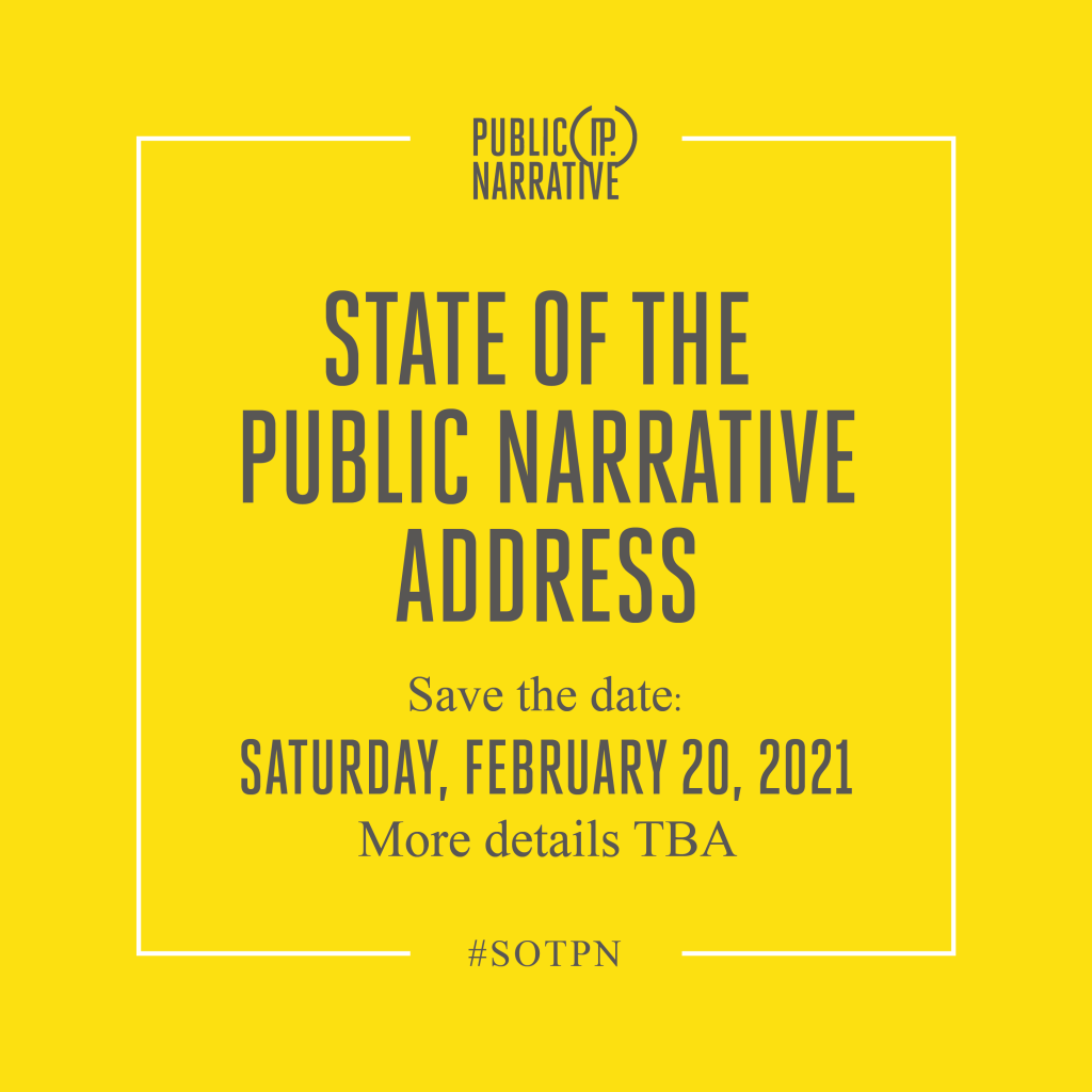 State of the Public Narrative address