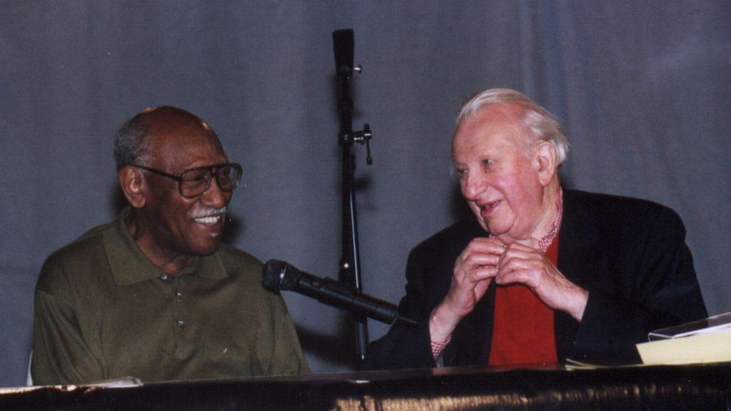 Timuel Black and Studs Terkel
